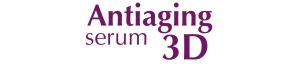 Logo Antiaging serum 3D