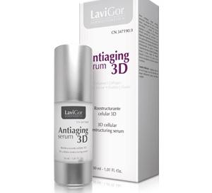 Envase Antiaging serum 3D para pieles necesitadas