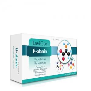 Beta Alanin de laboratorios lavigor con taurina y vitaminas B.
