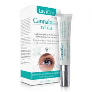 Envase Cannabisan eye gel para contorno de ojos