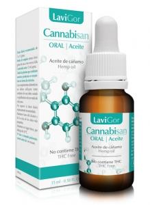 Imagen estuche y bote cannabisan oral aceite