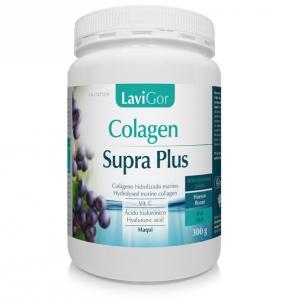 Colagen Supra plus Laboratorios lavigor colageno hidrolizado marino con ácido hialurónico vitamina C maqui