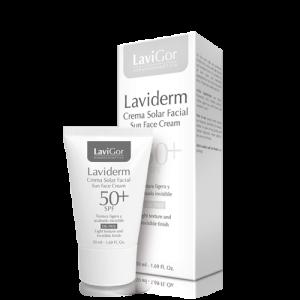 Envase Laviderm Crema Solar Facial 50+ SPF