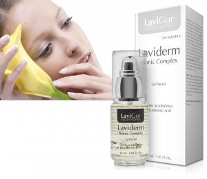 Envase de Laviderm Bionic Complex, gel facial no graso
