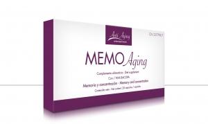 Estuche Memo Aging, suplemento antioxidante