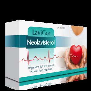 Estuche Neolavisterol para controlar niveles colesterol.