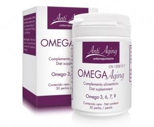 Bote Omega Aging con Omega 3