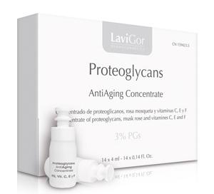 Envase de Proteoglycans, concentrado facial para envejecimiento