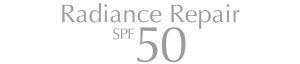 Logo Radiance Repair SPF 50