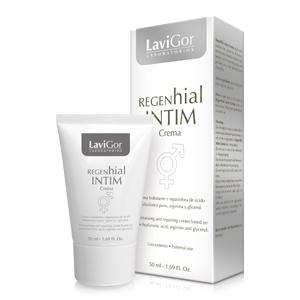 Envase Regenhial Intim Crema, hidratante y reparadora