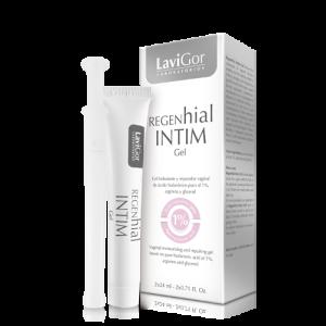 Envase Regenhial Intim Gel, hidratante y reparador vaginal