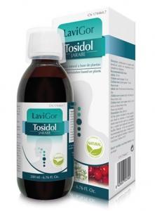 Jarabe Tosidol para mejorar las vías respiratorias.